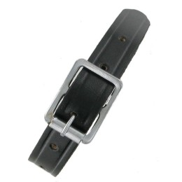 Black Leather Strap 15""