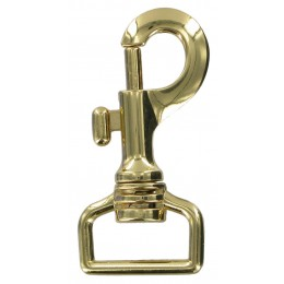 Brass Finish Snap Hook 26mm
