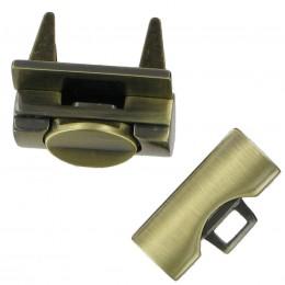 Antique Brass Dropcatch Fastener
