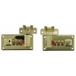 Brass Combi-Lock Set