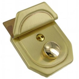 Brushed Brass Key Lock