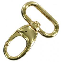 Gold Finish Snap Hook 32mm
