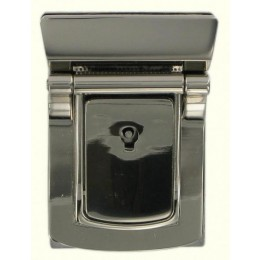 Chrome Rectangular Lockable Tucktite