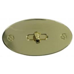 Brass Turn Clasp