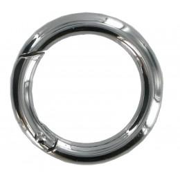 Small Chrome Springate Ring