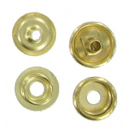 Brass Duradot Press Stud  (10 Pack)