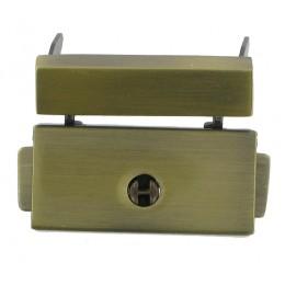 Antique Brass Lockable Dropcatch Fastener