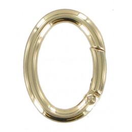 Oval Brass Springate Ring