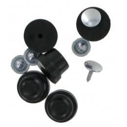 Black Nylon Base Stud (5 Pack)