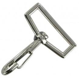 Nickel Finish Snap Hook 39mm