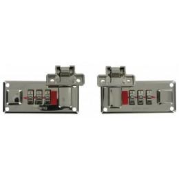 Nickel Presto Combi-Lock Set