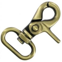 Antique Brass Trigger Hook 25mm