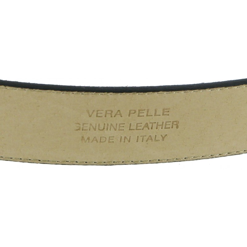 Italian Leather Belt Reverse