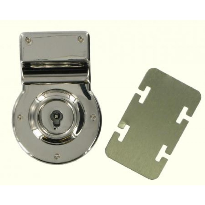 Lock Assy and backplate